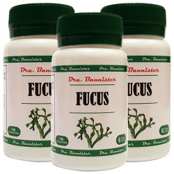 FUCUS 500 mg. 3 x 100 comprimidos. Dra. BANNISTER