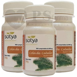 COLA DE CABALLO 500mg. 3 x 100 Comp. SOTYA