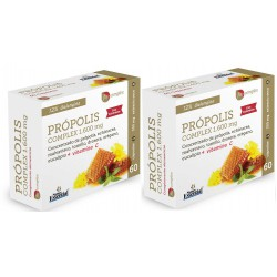 Propolis Complex 600 mg.  2 x 60 Cáps. NATURE ESSENTIAL