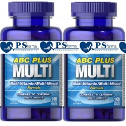 ABC PLUS SENIOR MULTIVITAMINAS Y MINERALES 60 cápsulas. Puritan's Pride
