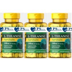 L-Theanine 200 mg (TEANINA) 3 x 90 cps