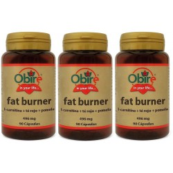 FAT BURNER 496 mg 3 x 90 Cáps. OBIRE