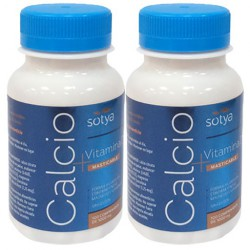 CALCIO + VITAMINA D 1000mg. 2 x 100 Comps. Sotya