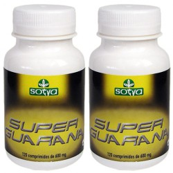 SUPER GUARANA 600mg. 2 x 120 Cápsulas. Sotya