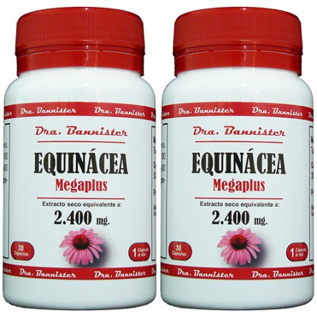 EQUINACEA/ECHINACEA 2.400 mg. 2 x 30 cáps. Dra. BANNISTER
