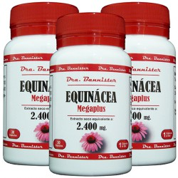 EQUINACEA/ECHINACEA 2.400 mg. 3 x 30 cáps. Dra. BANNISTER