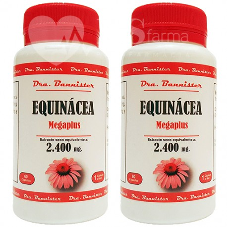 EQUINACEA/ECHINACEA 2.400 mg. 2 x 60 cáps. Dra. BANNISTER