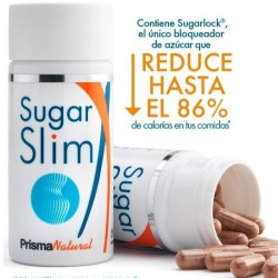 SUGAR SLIM - Sugarlock®. 548mg  2  x 60 Cáps.  PRISMA NATURAL